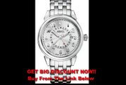 REVIEW Accutron Gemini Silver Dial Automatic Stainless Steel Mens Watch 63B013