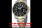 SPECIAL DISCOUNT Rolex Submariner Black Index Dial Oyster Bracelet Mens Watch 116613BKSO