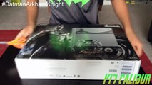 EXCLUSIVE Batman: Arkham Knight Limited Edition Steel Grey 500GB PlayStation 4 Bundle Unboxing