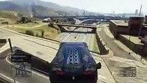 GTA V Online - Hackers, Rampas y Saltos Locos - Carreras con Subs #33 - Funny Moments GTA 5