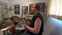 Under The Covers - The Rolling Stones - (I Can't Get No) Satisfaction DRUM COVER / The Drum Show