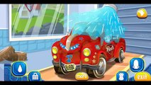 RED CAR at the car wash  Car wash for kids  Cartoon about CAR WASH  CAR WASH cartoon