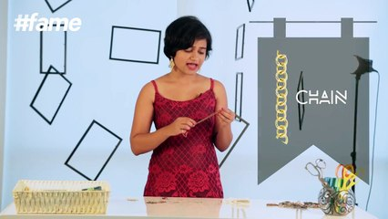 How To Make Earrings At Home   DIY   #LakmeSchoolofStyle
