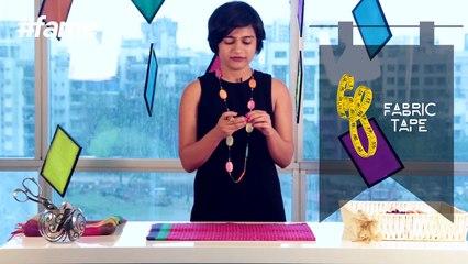 How To Make DIY Wrap Skirt   #LakmeSchoolofStyle