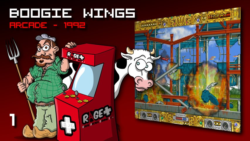 RAGE+ #1 - BOOGIE WINGS