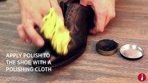 How To Shine Your Shoes | Shoe Polishing Tips | Ties.com