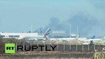 Italie : un incendie près de l'aéroport de Rome cloue les avions au sol