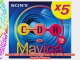Sony 5 MCR 156 A Box mit 5 St?ck 8cm CD-R (MCR-156A) f?r digitale Mavicas