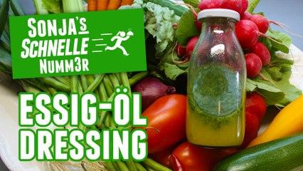 Essig-Öl-Dressing - Rezept (Sonja's Schnelle Nummer #76)