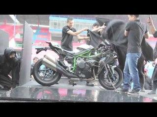 Launching Kawasaki H2 di Sentul Indonesia
