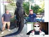 cocodrilo gigante cazado monstruos reales