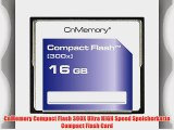 CnMemory Compact Flash 300X Ultra HIGH Speed Speicherkarte Compact Flash Card