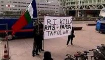 Molukkers RMS willen actie/rellen tijdens staatsbezoek president Indonesië Yodhoyono aan Nederland