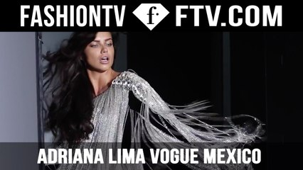 Adriana Lima Lights Up Vogue Mexico's July 2015 Cover