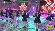 150729 FNS Uta no Natsu Matsuri Anri x AKB48 - Cat's Eye