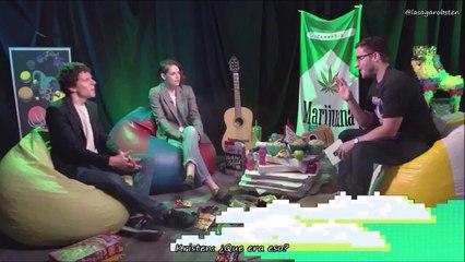 Entrevista de Josh con Kristen y Jesse por 'American Ultra'