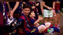 Leo and Thiago Messi | Father and Son | HD |