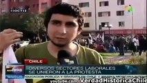 Estudiantes Chilenos Imposición de las minorías Movimiento Estudiantil Chile Boric Sergio Melnick