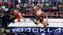 John Cena vs. Shawn Michaels vs. Randy Orton vs. Edge Highlights - HD Backlash 2007