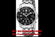 SPECIAL PRICE Omega Men's 212.30.36.20.01.001 Seamaster 300M Chrono Diver Black Dial Watch