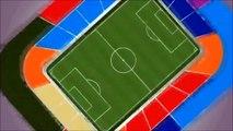 Inauguración del Estadio La Portada de La Serena - Copa América Chile 2015