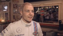 Valtteri Bottas and the pump gun