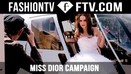 Natalie Portman in Miss Dior Film