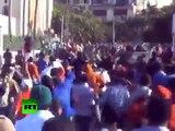 Fuertes enfrentamientos durante la 'protesta del millón' en Egipto