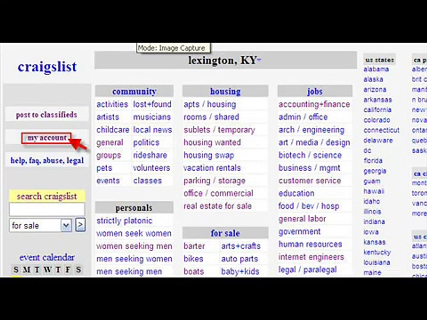 How to post ad on craigslist org