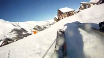 montage video ski menuires 3 vallées gopro hd 960