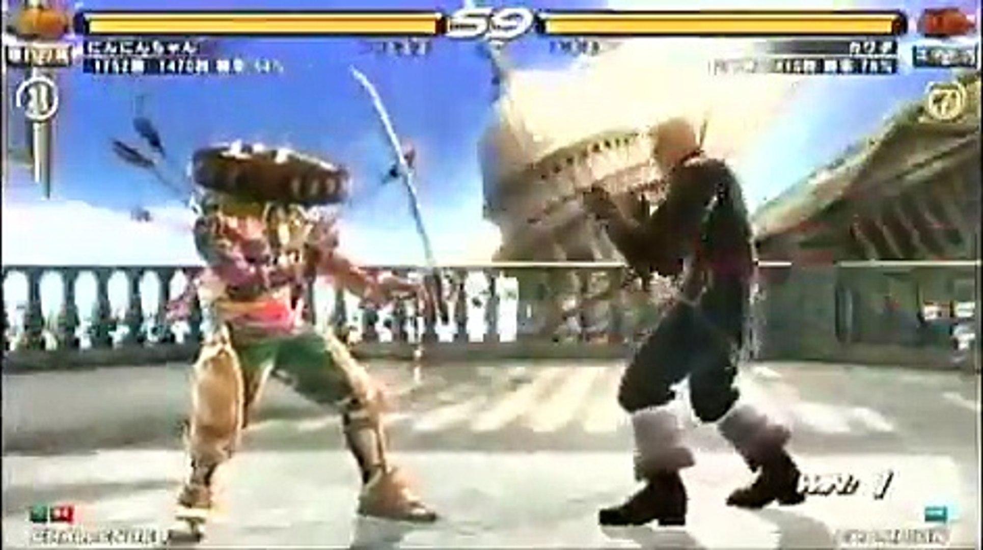 Tekken 6 Yoshimitsu Vs Steve Fox Video Dailymotion
