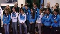 15 de AGO. Recibimiento a deportistas olímpicos Londres 2012. Cristina Fernández