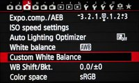 Settings and Menus - Setting up the Canon 6D