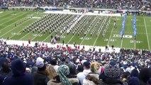 The Penn State Blue Band pregame show.  November 23, 2013.