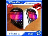 BCheap Phone Blackberry Curve 9360 Unlocked Quad-Band 3G GSM Phone with 5MP Camera