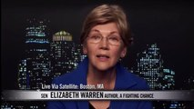 Elizabeth Warren on Bill Maher: Warren Owns Ted Cruz on Income Inequality - April 10, 2015