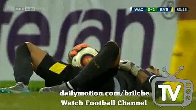 Roman Burki Amazing Save - Wac vs Dortmund 0:1 Europa League 30.07.2015
