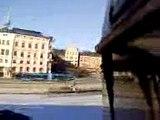 trainsurfing in stockholm