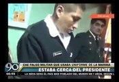 Parada Militar: Falso marino intentó acercarse al estrado oficial