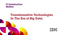 IBM's Sean Poulley on Transformative Technologies in the Era of Big Data
