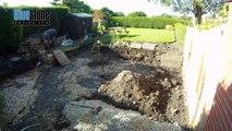 Bluestone Paving Ltd - Westhead Garden Patio Time Lapse
