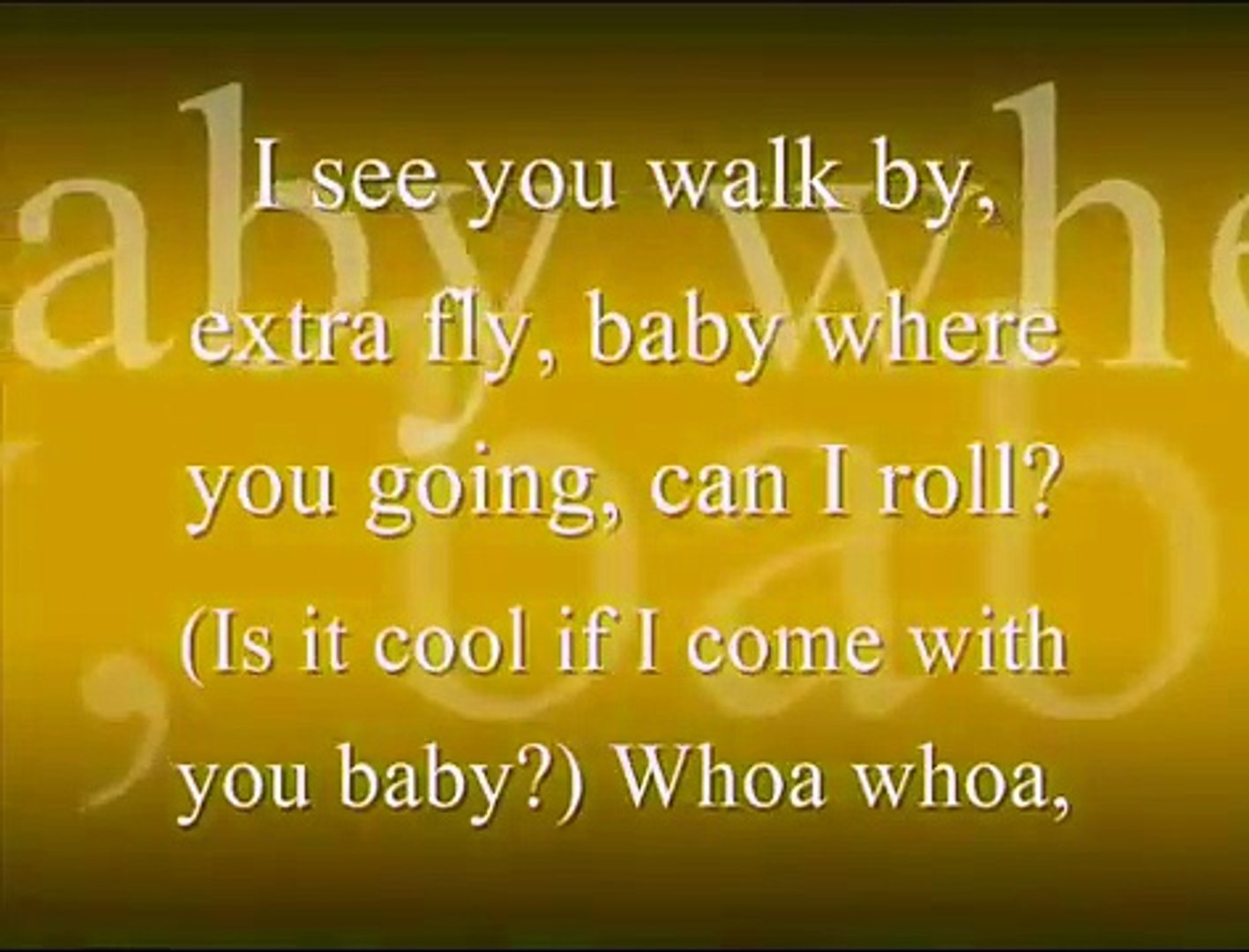 Say Somethin' - Austin Mahone (lyrics)