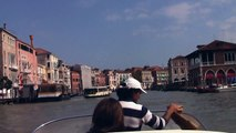 A Water Taxi Tour of Venice, Italy