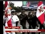 Desfile Cívico Militar en Trujillo por Fiestas Patrias 2011