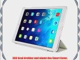 TKOOFN? Ultra D?nn Edles Smart Cover Leder Case Schutz H?lle Tasche   Back Case f?r iPad mini