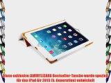 JAMMYLIZARD | Ledertasche Smart Case f?r iPad Air 2013 (5. Generation) WEI?