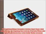 JAMMYLIZARD | Ledertasche Smart Case f?r iPad Air 2013 (5. Generation) BRAUN