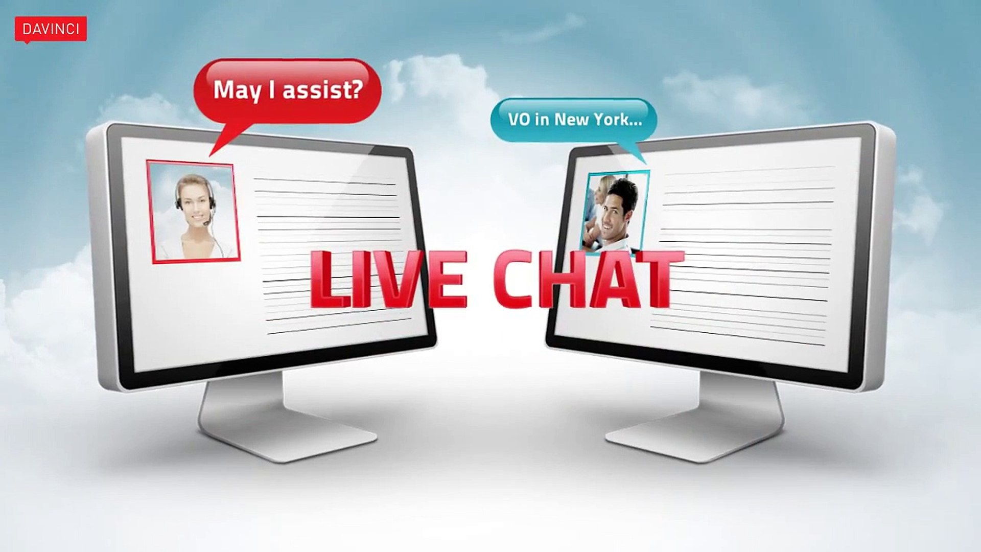Live Web Chat Services & Virtual Receptionist Services - Davinci Virtual Office Solutions