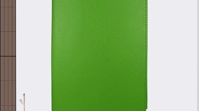 Sleek Gadgets - Premium grun Leder Fall decken mit Viewing