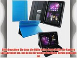 Emartbuy? i.onik TM3 Series 1 10.1 Zoll Tablet Universalbereich Blau 3D Cube Multi Winkel Folio